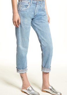 Citizens of Humanity Emerson Crop Slim Boyfriend Jeans (Capri)