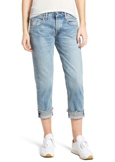 Citizens of Humanity Emerson Crop Slim Fit Boyfriend Jeans (Stax)