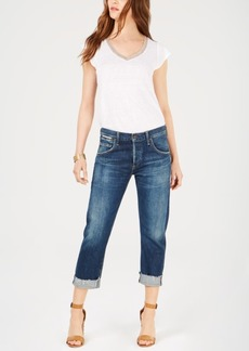 Citizens of Humanity Emerson Cropped Slim Boyfriend Jeans