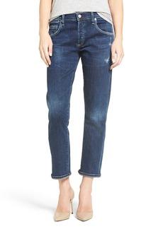 Citizens of Humanity 'Emerson' High Rise Slim Boyfriend Jeans (Dark Star)