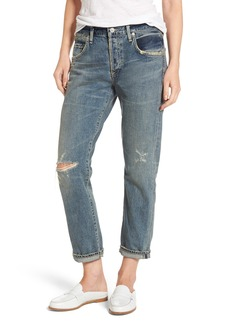 Citizens of Humanity Emerson Ripped Slim Boyfriend Jeans (Norlander)