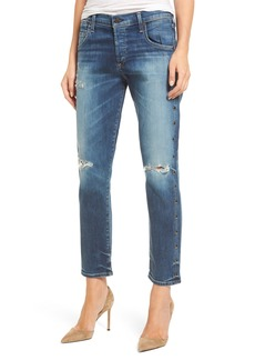 Citizens of Humanity Emerson Slim Boyfriend Jeans (Studded Stetson)