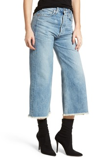 Citizens of Humanity Emma High Waist Crop Wide Leg Jeans (Stax)