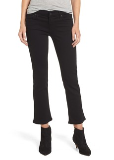 Citizens of Humanity Emmanuelle Crop Slim Bootcut Jeans (Tuxedo)