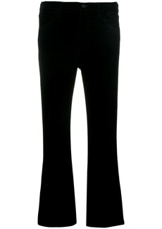 Citizens Of Humanity flared cropped trousers - Black