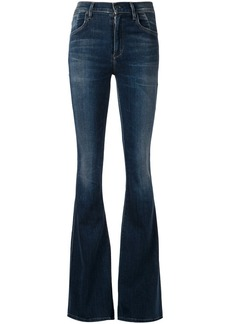 Citizens Of Humanity flared high waisted jeans - Blue