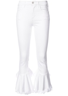 Citizens Of Humanity flared skinny jeans - White