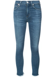 Citizens of Humanity frayed jeans