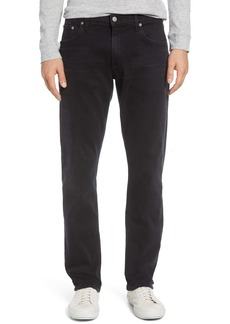 Citizens of Humanity Gage Slim Straight Leg Jeans (Ramon Faded Black)