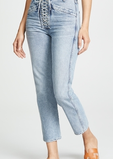 Citizens of Humanity Gemma Lace Up Jeans