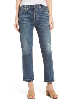 Citizens of Humanity Gia Crop Straight Leg Jeans (Rollins)