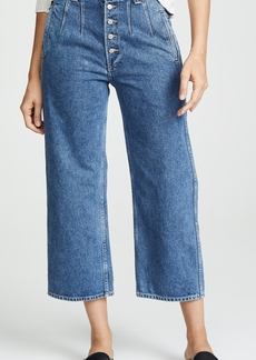 Citizens of Humanity Halsey Wide Leg Crop Jeans