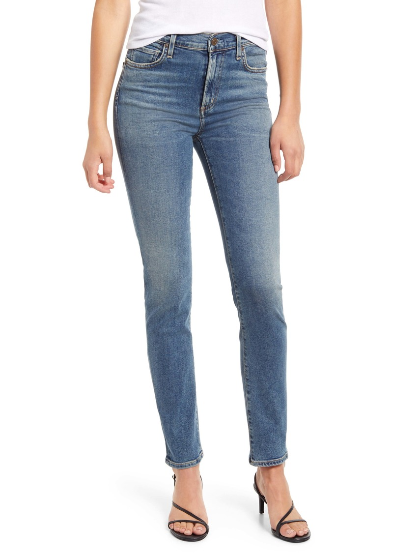 Citizens of Humanity Harlow High Waist Ankle Slim Jeans (Witness)