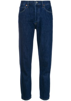 Citizens Of Humanity high rise raw hem skinny jeans - Blue