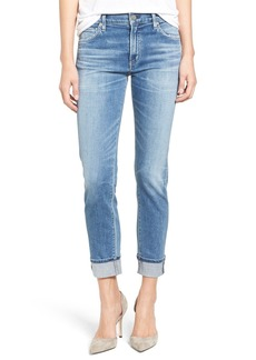 Citizens of Humanity Jazmin Crop Straight Leg Jeans (Pacifica)