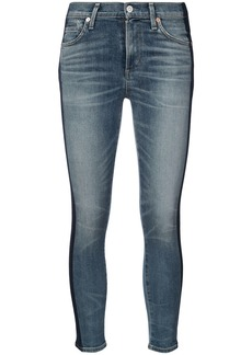 Citizens Of Humanity jeans with vertical stripes - Blue