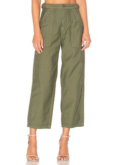 Citizens of Humanity Kendall Wide Leg in Green. - size 25 (also in 24,27,30)