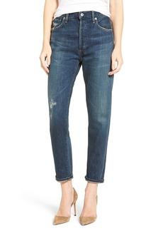 Citizens of Humanity Liya High Waist Slim Boyfriend Jeans (Wiltern)