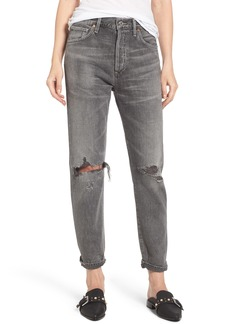 Citizens of Humanity Liya High Waist Boyfriend Jeans (Extreme)