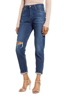 Citizens of Humanity Liya High Waist Ripped Slim Jeans (Lowe)