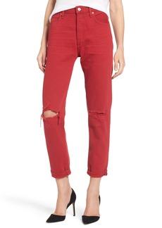 Citizens of Humanity Liya High Waist Slim Boyfriend Jeans (Double Dare)