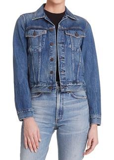 Citizens of Humanity Nica Slim Cropped Denim Jacket