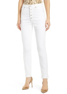 Citizens of Humanity Olivia Button Fly High Waist Slim Jeans (Unveil)