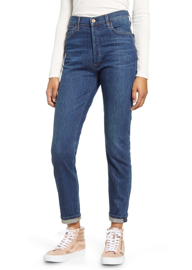 Citizens of Humanity Olivia High Waist Ankle Slim Jeans (Mercy)