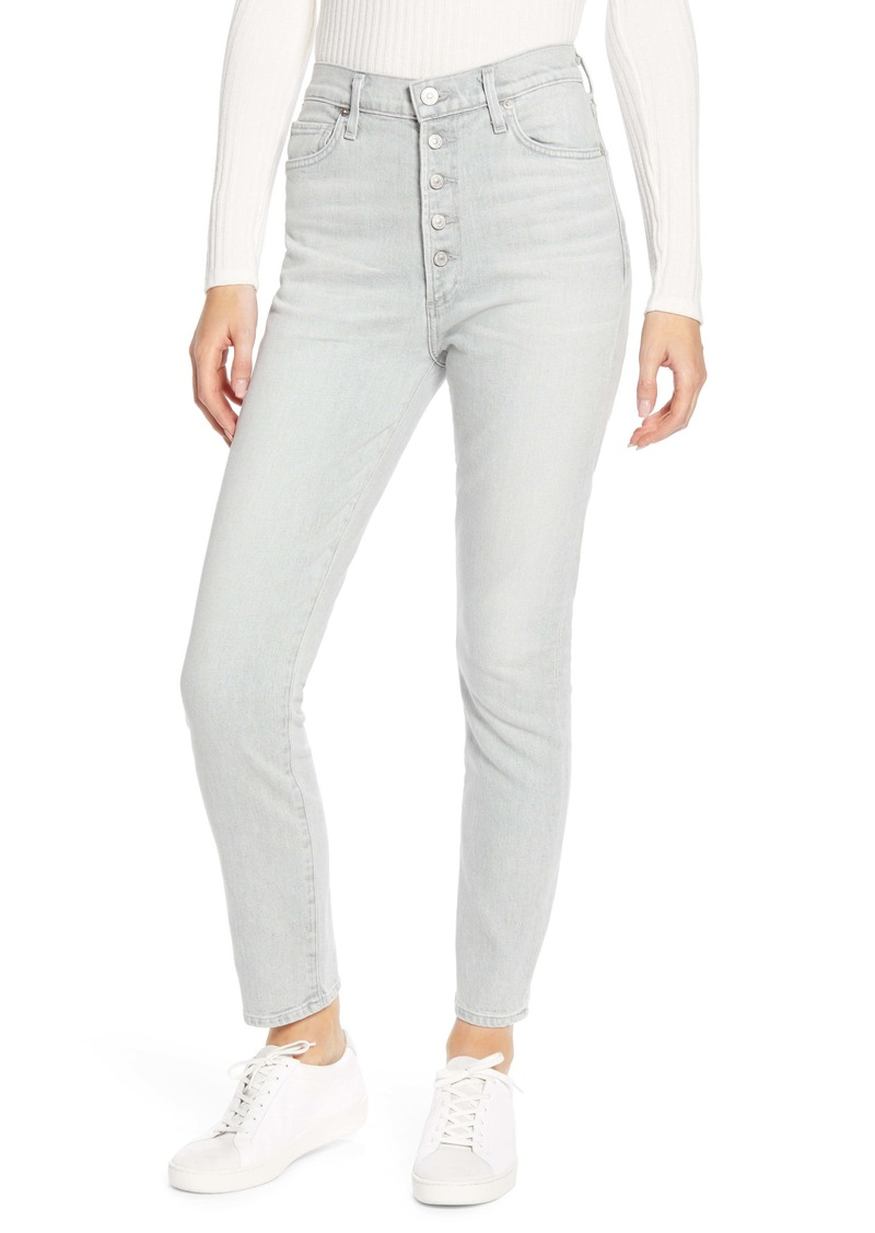 Citizens of Humanity Olivia High Waist Ankle Slim Jeans (Zinc)