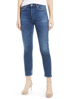 Citizens of Humanity Olivia High Waist Crop Slim Jeans (Reset)