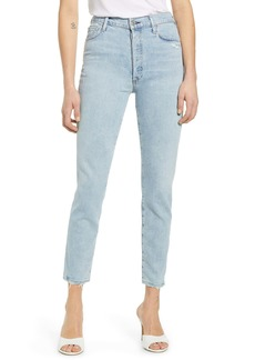 Citizens of Humanity Olivia High Waist Crop Slim Leg Jeans (Imagine)