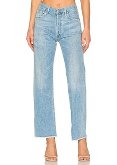 Citizens of Humanity Parker Relaxed Cuff Crop. - size 24 (also in 27,30)