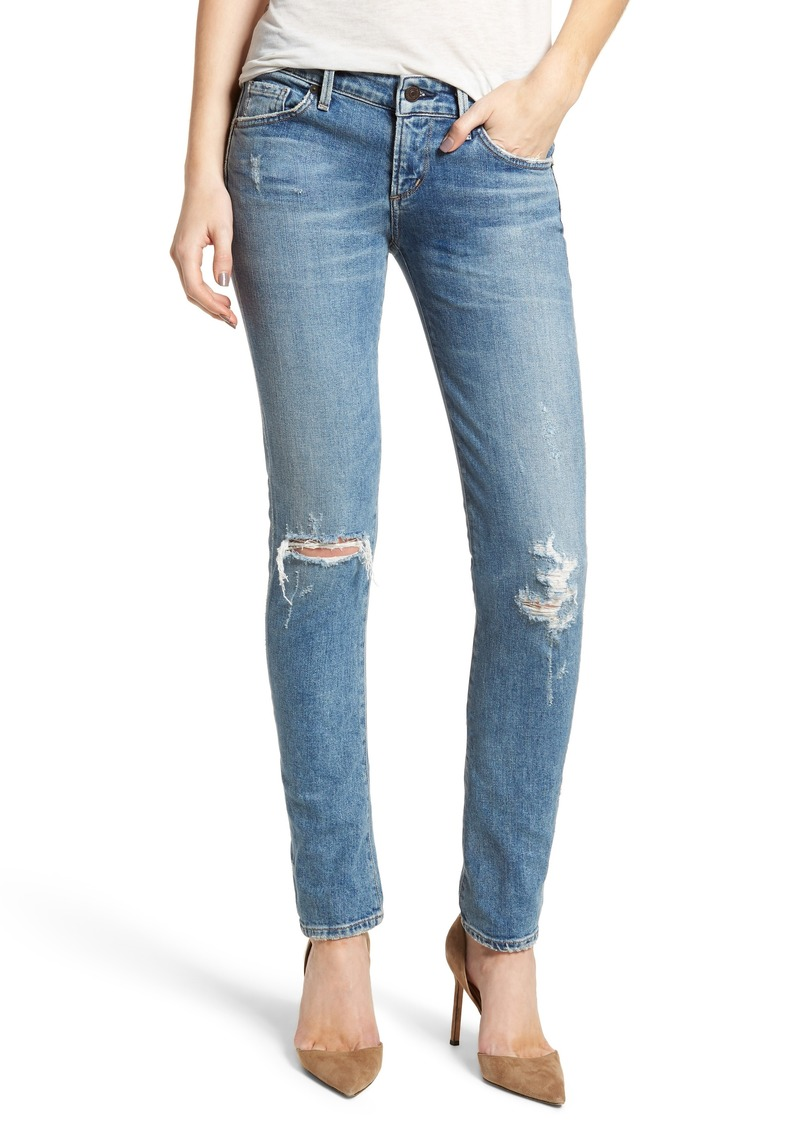 Citizens of Humanity Racer Ripped Skinny Jeans (Distressed Encore)