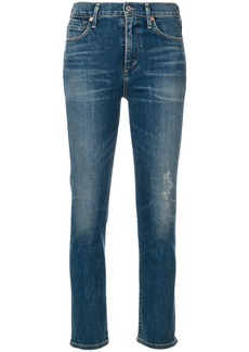 Citizens Of Humanity Rocket cigarette ankle jeans - Blue