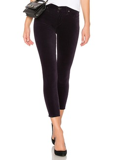 Citizens of Humanity Rocket Crop Velvet Skinny