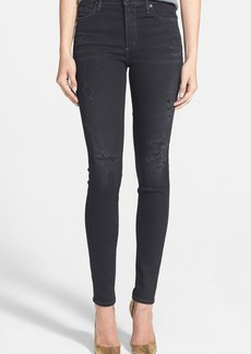 Citizens of Humanity 'Rocket' Distressed High Rise Skinny Jeans (Porter)