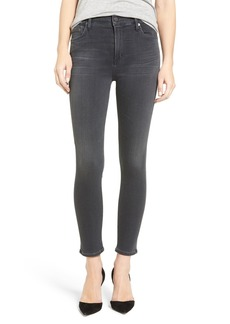 Citizens of Humanity Rocket High Rise Crop Skinny Jeans (Chateau)