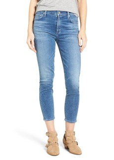 Citizens of Humanity Rocket High Rise Crop Skinny Jeans (Pacifica)