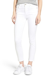 Citizens of Humanity Rocket High Rise Crop Skinny Jeans (Sculpt White)