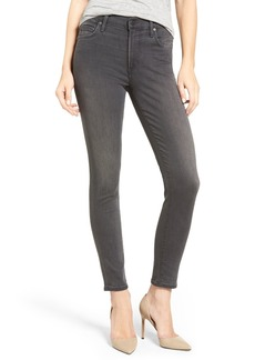 Citizens of Humanity Rocket High Rise Skinny Jeans (Drift) (Petite)