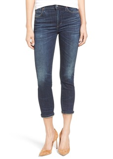 Citizens of Humanity Rocket High Waist Crop Skinny Jeans (Call Me)