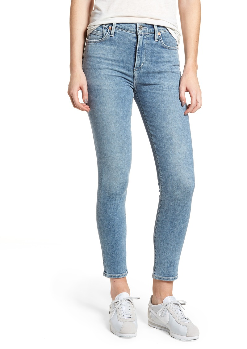 Citizens of Humanity Rocket High Waist Crop Skinny Jeans (Firestone)