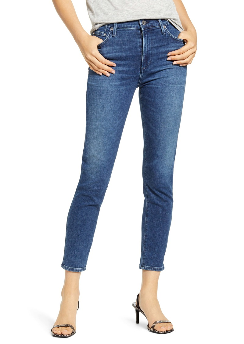 Citizens of Humanity Rocket High Waist Crop Skinny Jeans (Glory)