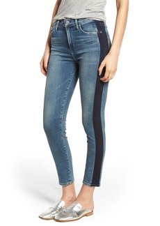 Citizens of Humanity Rocket High Waist Crop Skinny Jeans (Illusion)