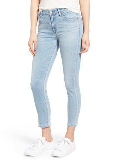 Citizens of Humanity Rocket High Waist Crop Skinny Jeans (Oracle Blue)