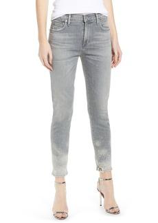 Citizens of Humanity Rocket High Waist Crop Skinny Jeans (Salt Stone)
