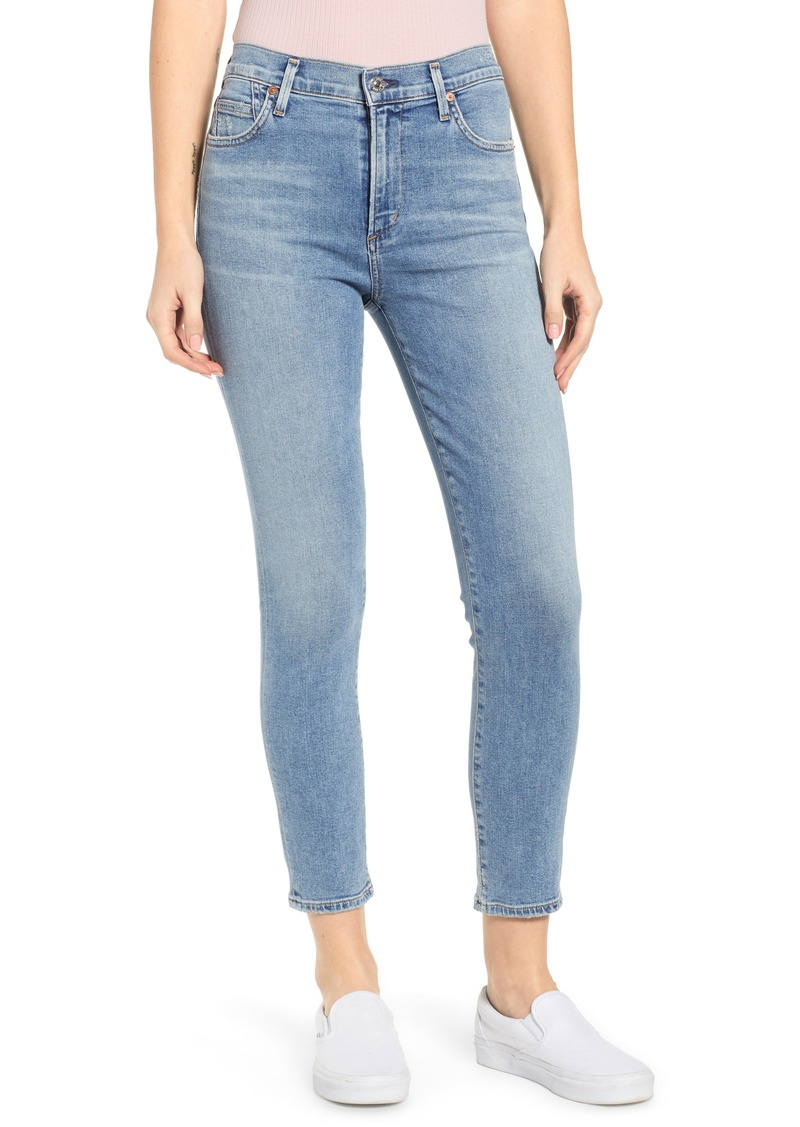 Citizens of Humanity Rocket High Waist Crop Skinny Jeans (Serenity)