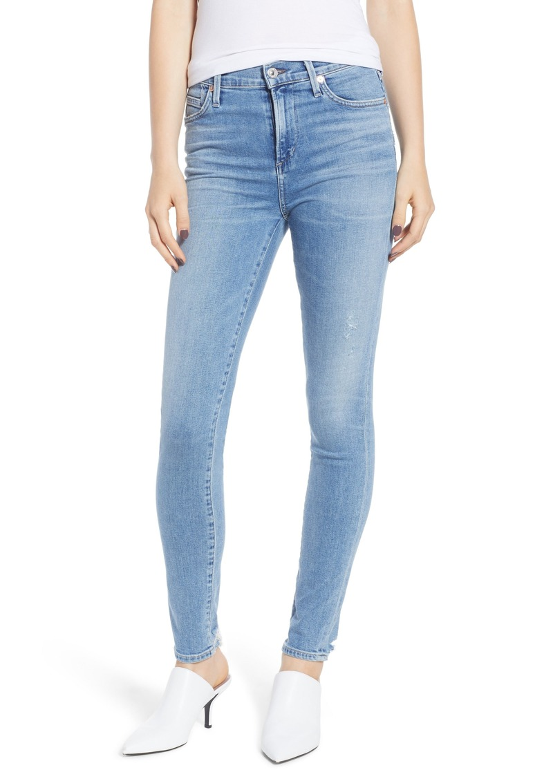 Citizens of Humanity Rocket High Waist Skinny Jeans (Small Talk)