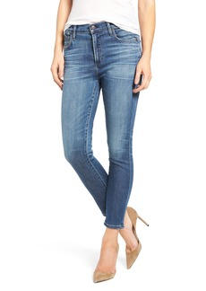 Citizens of Humanity Rocket High Waist Crop Skinny Jeans (Voodoo)