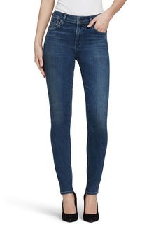 Citizens of Humanity Rocket High Waist Skinny Jeans (Blue Water) (Petite)